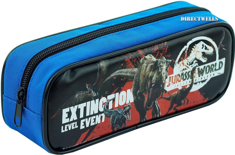 Jurassic World - Estuche para lápices, color azul: Amazon.es: Juguetes y juegos
