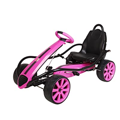 Kiddi-o by Kettler Sport Kid Racer Pedal Car, Pink: Toys & Games