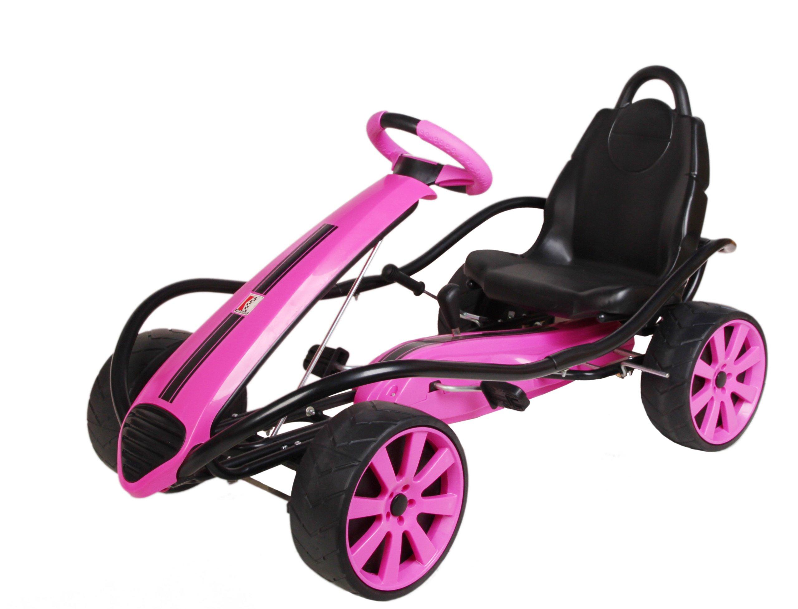 Kiddi-o by Kettler Sport Kid Racer Pedal Car, Pink by Kettler
