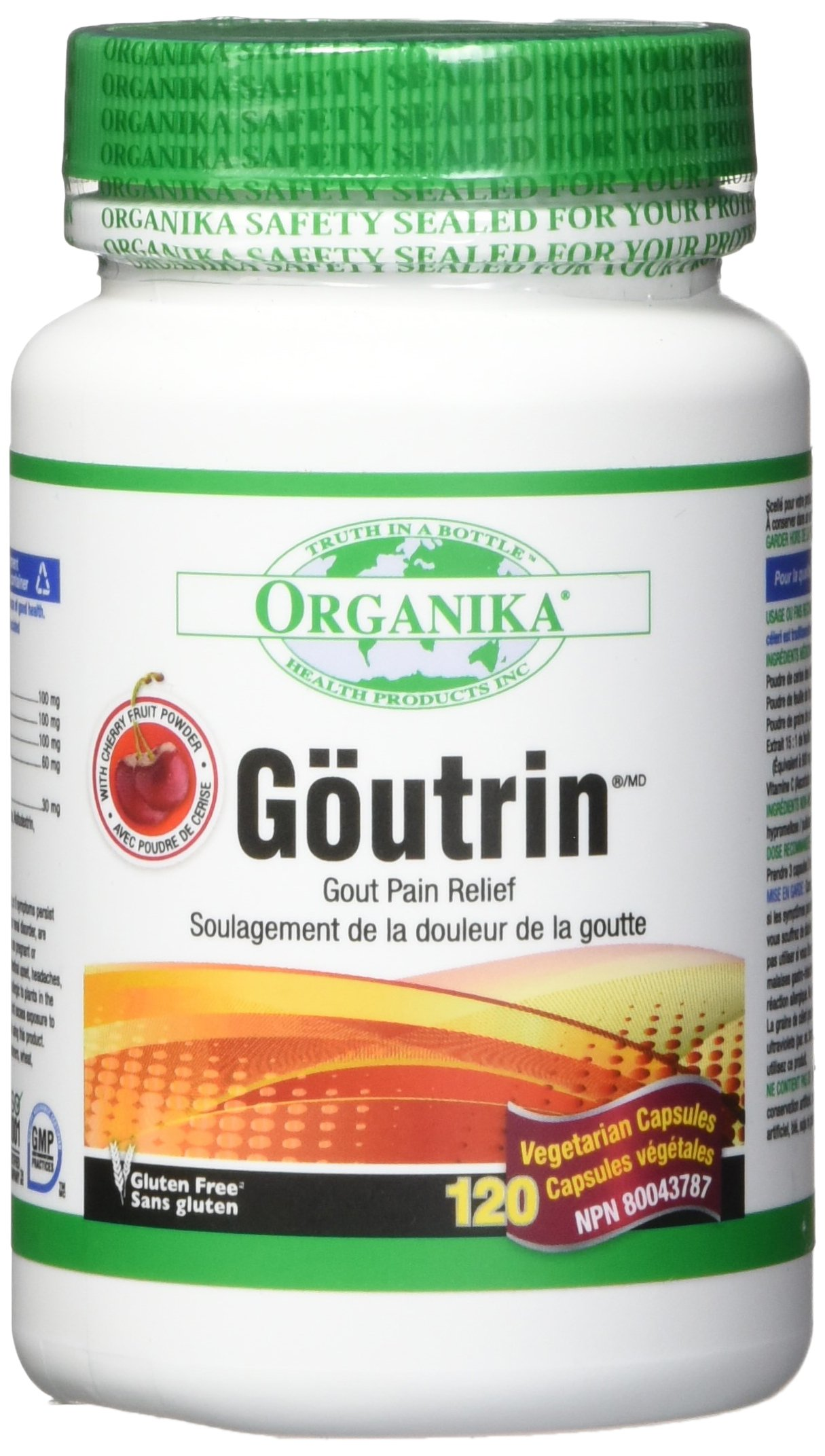 Organika Goutrin 390mg 120 Softgels