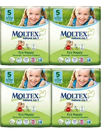 Para niños hecha de juego de diseño de 4 Moltex pañales de tamaño de la funda