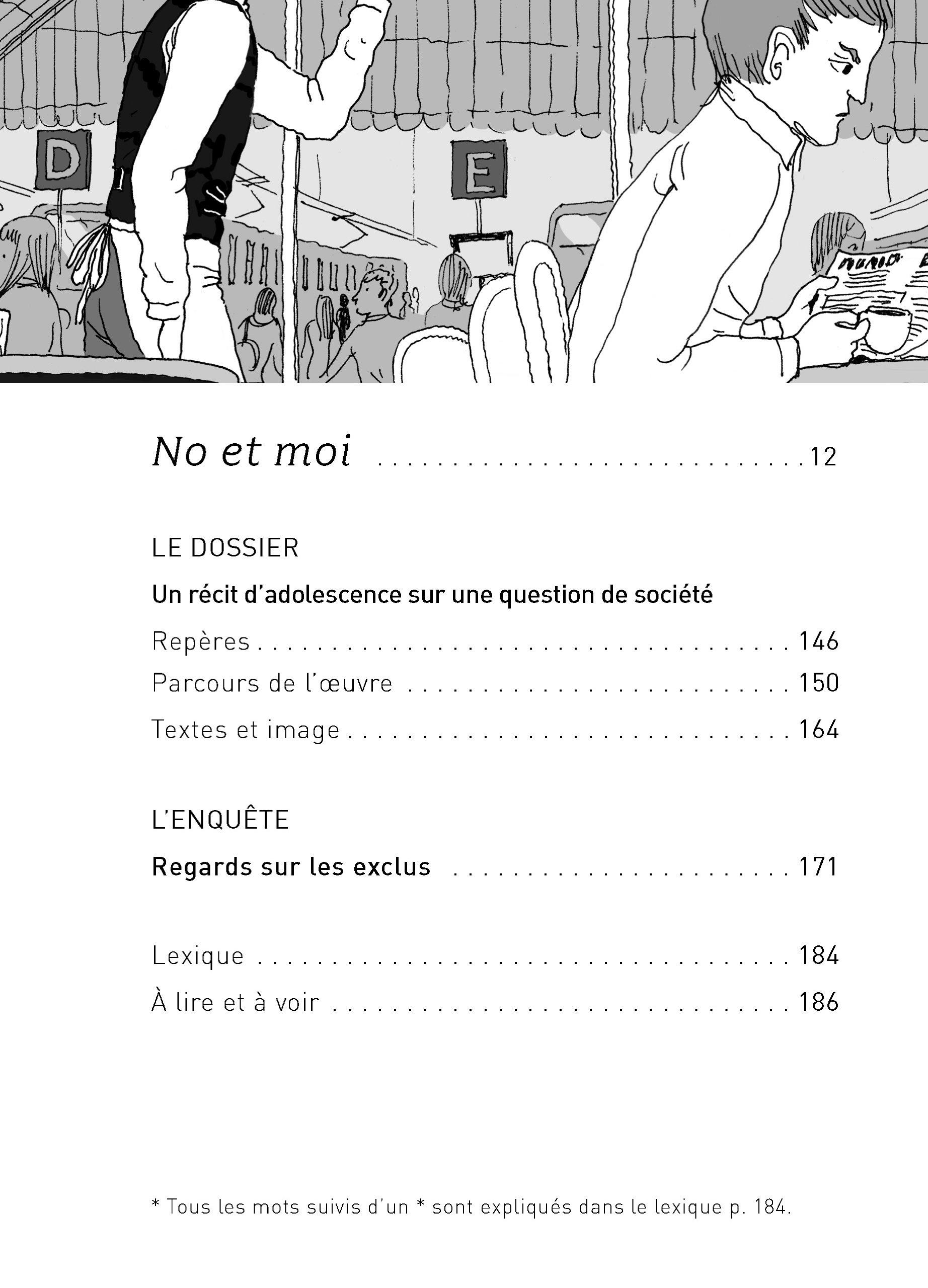 No et moi (Classiques & Cie Collège): Amazon.es: Delphine de Vigan, Aubert Drolent, Bertrand Louët: Libros en idiomas extranjeros