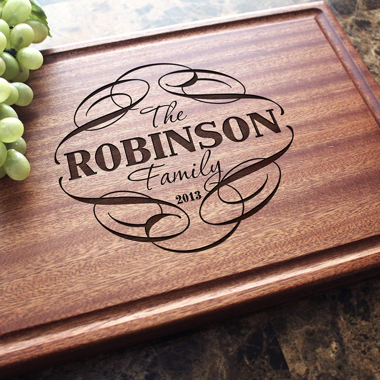 Custom Cutting Board Design #101 Housewarming Gift Wedding Gift Anniversary Gift Unique Gift Personalized Wood Cutting Board