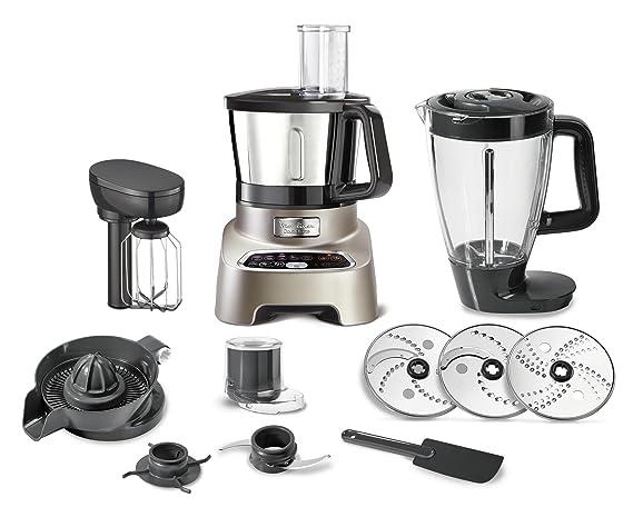 Amazon.com: Moulinex fp828h10 Máquina de cocina multifunción ...