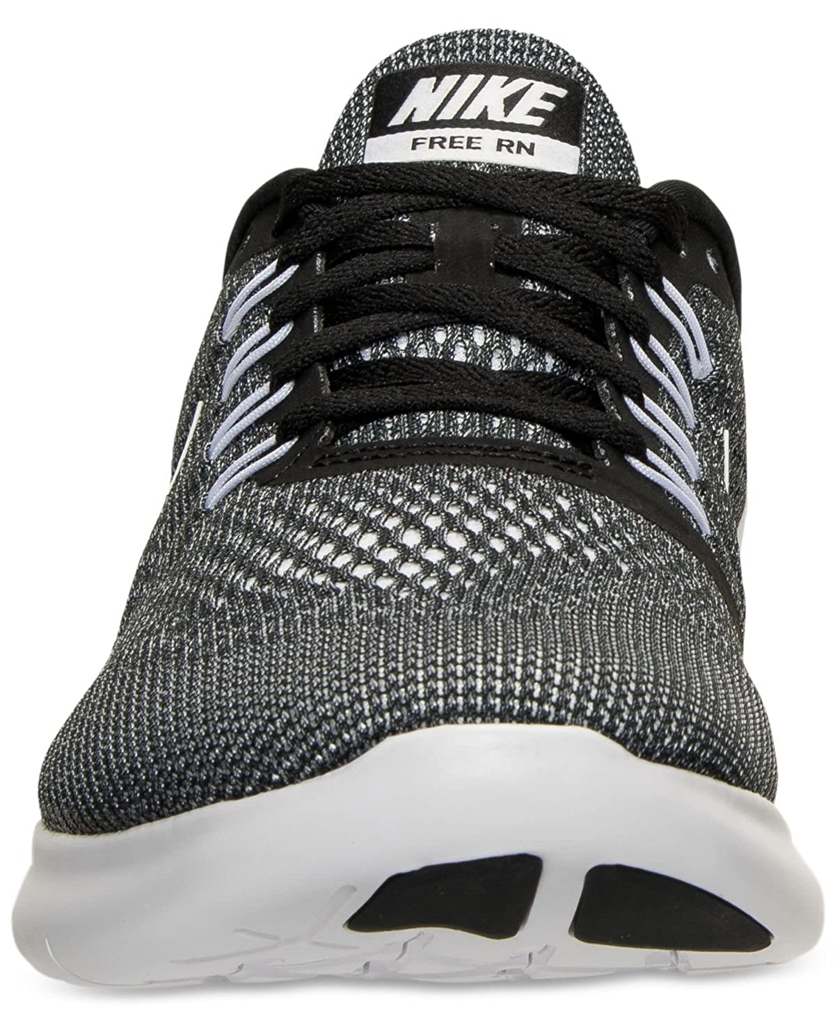newest 1478f 55ccb Amazon.com   Nike Mens Free Run Running Sneakers from Finish Line Black    Road Running
