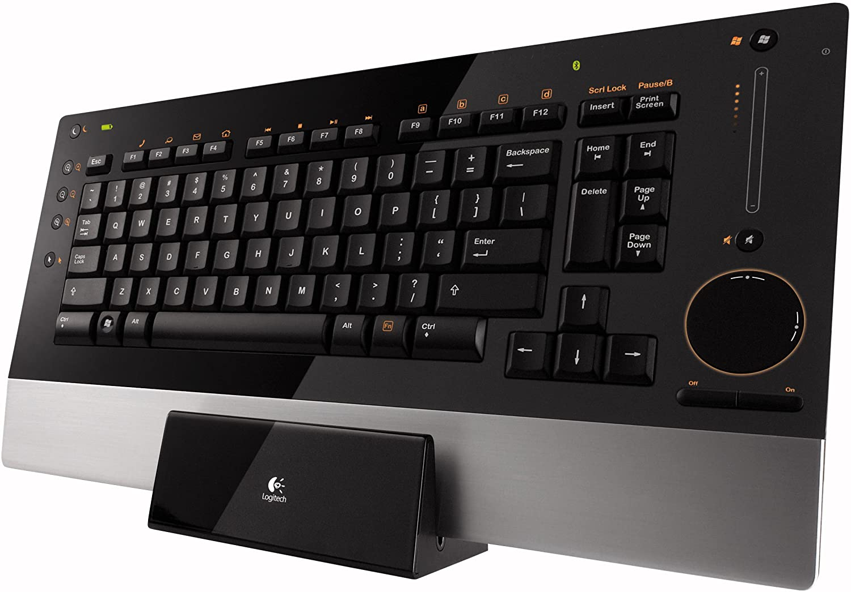 Logitech diNovo Edge Keyboard (Black)