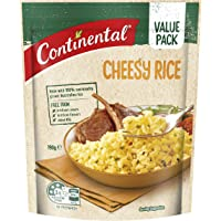 CONTINENTAL Rice (Value/Family Pack)   Cheesy Rice, 190g