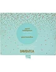 DAVIDsTEA Sweet Indulgence Tea Sampler, Dessert Loose Leaf Tea Gift Set, Assortment of 12 Decadent Teas, 122 g / 4.3 oz (SP)
