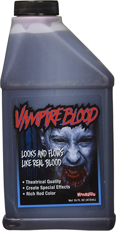 Amazon.com: Pint of Blood; Halloween, Vampire Blood; 16 Oz, Package may vary: Toys & Games