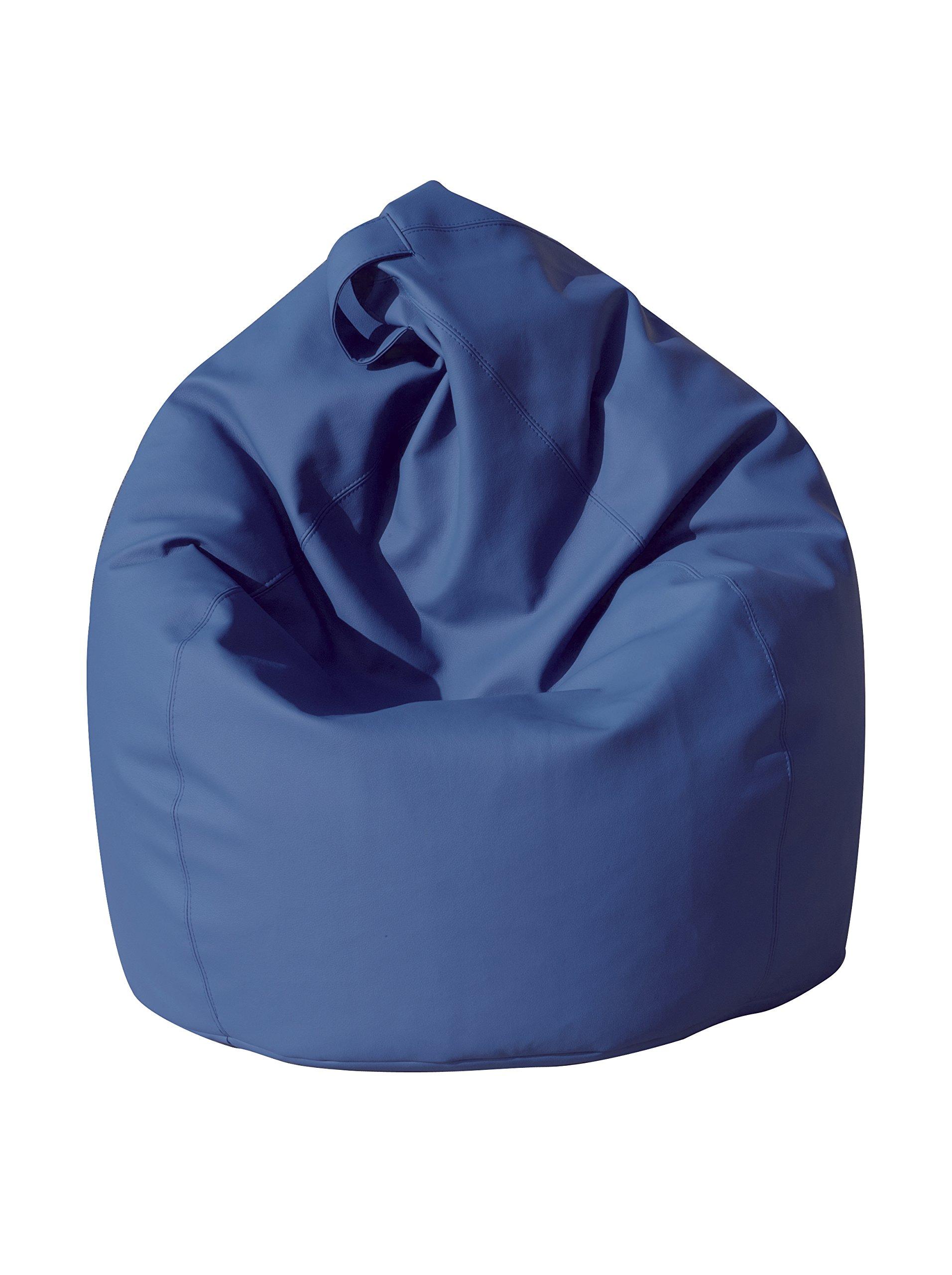 13Casa - Dea A3 - Poltrona sacco. Dim: 70x70x110 h cm. Col: Blu. Mat: Ecopelle. product image