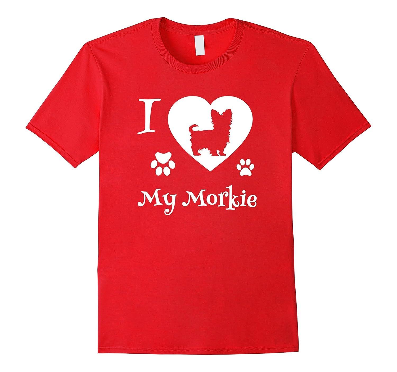 Amazon i love my morkie t shirt best morkie shirt clothing nvjuhfo Image collections