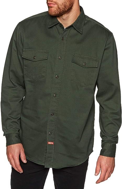 Brixton Olson L/S - Camisa tejida para hombre: Amazon.es: Ropa y accesorios