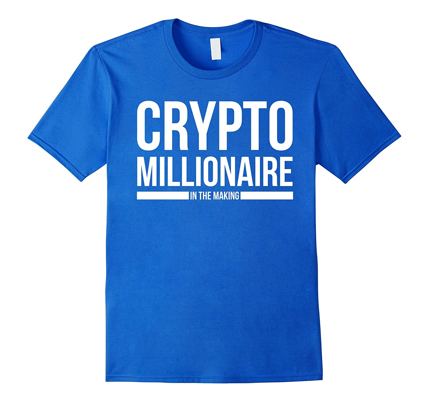 Mens Cryptocurrency Shirt Crypto Millionaire-Veotee