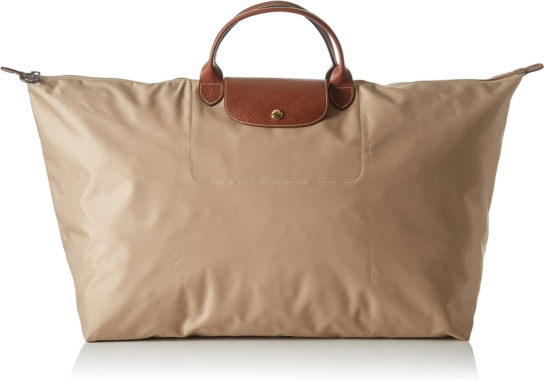 LongChamp Women's Le Pliage Beige XL Duffel Bag Weekender: Amazon ...