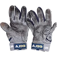 $999 » Aaron Judge New York Yankees Autographed Game-Used Navy and Gray Batting Gloves from the 2019 MLB Season - Fanatics Authentic Certified
