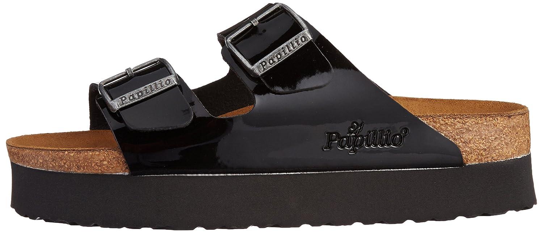 Papillio Arizona Birko flor, Women's Sandals, Black (Vernis