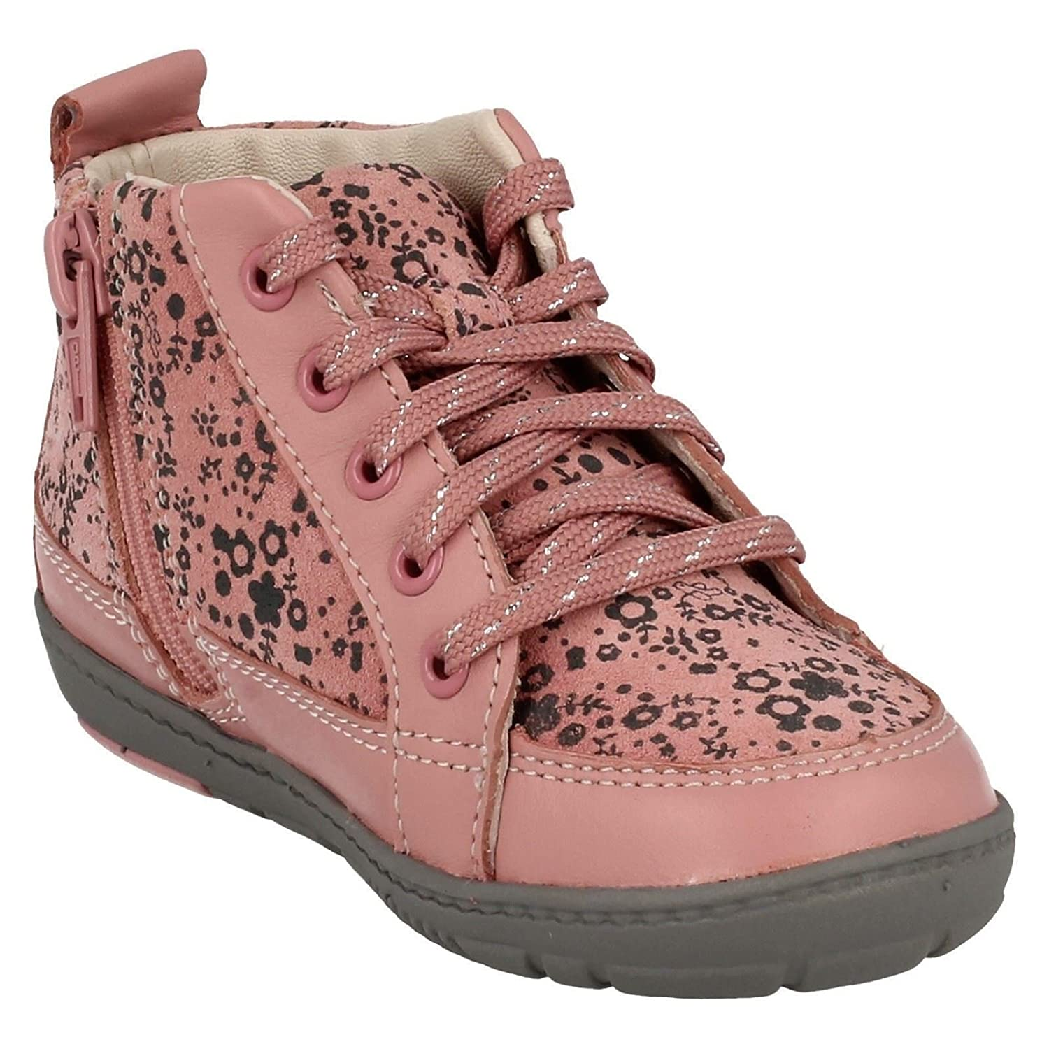 Clarks Maxi Libby Girls Pink Suede First Boots: Amazon.co.uk: Shoes & Bags