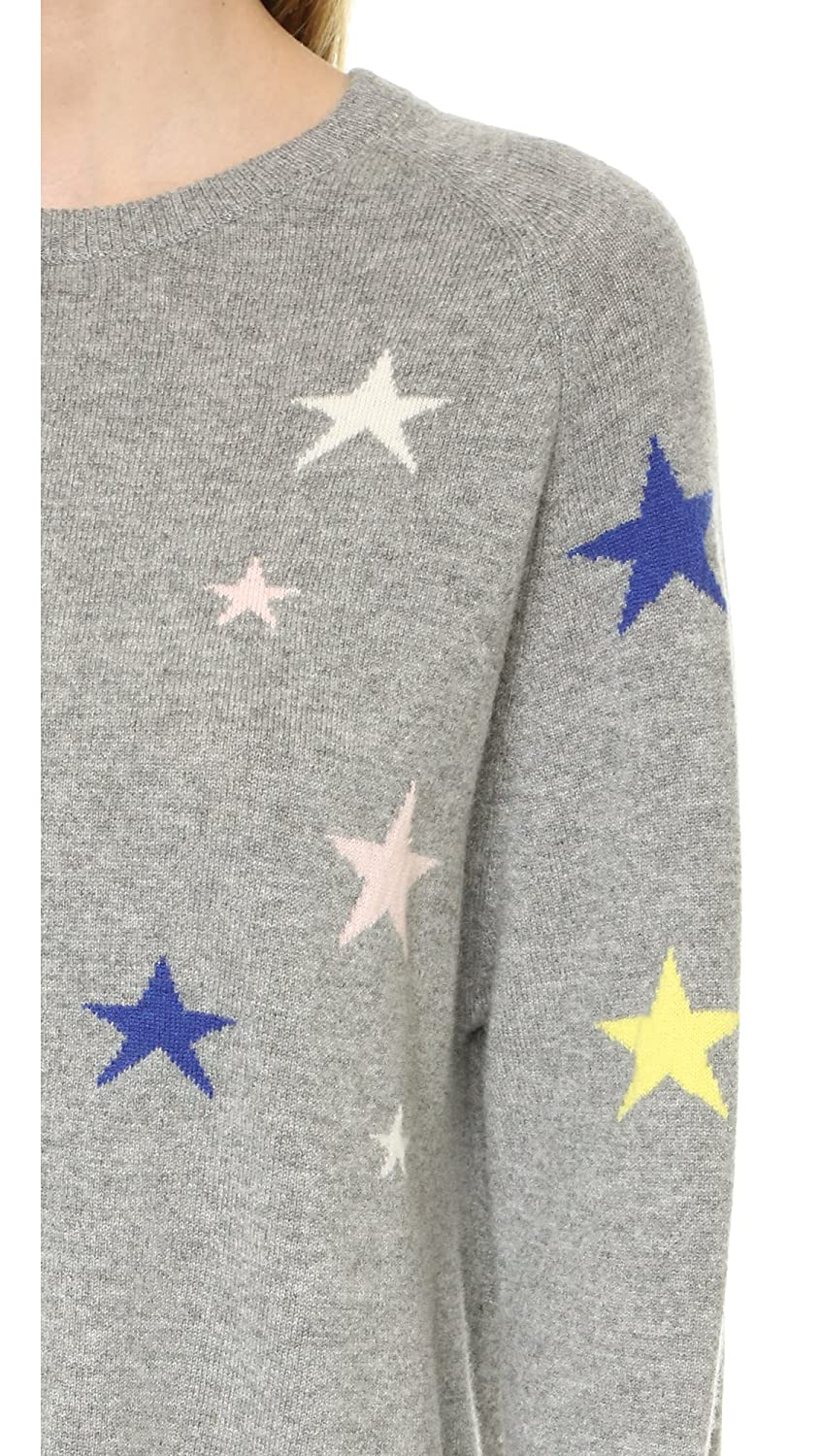 7954d4757f Chinti and Parker Women s Slouchy Star Cashmere Sweater