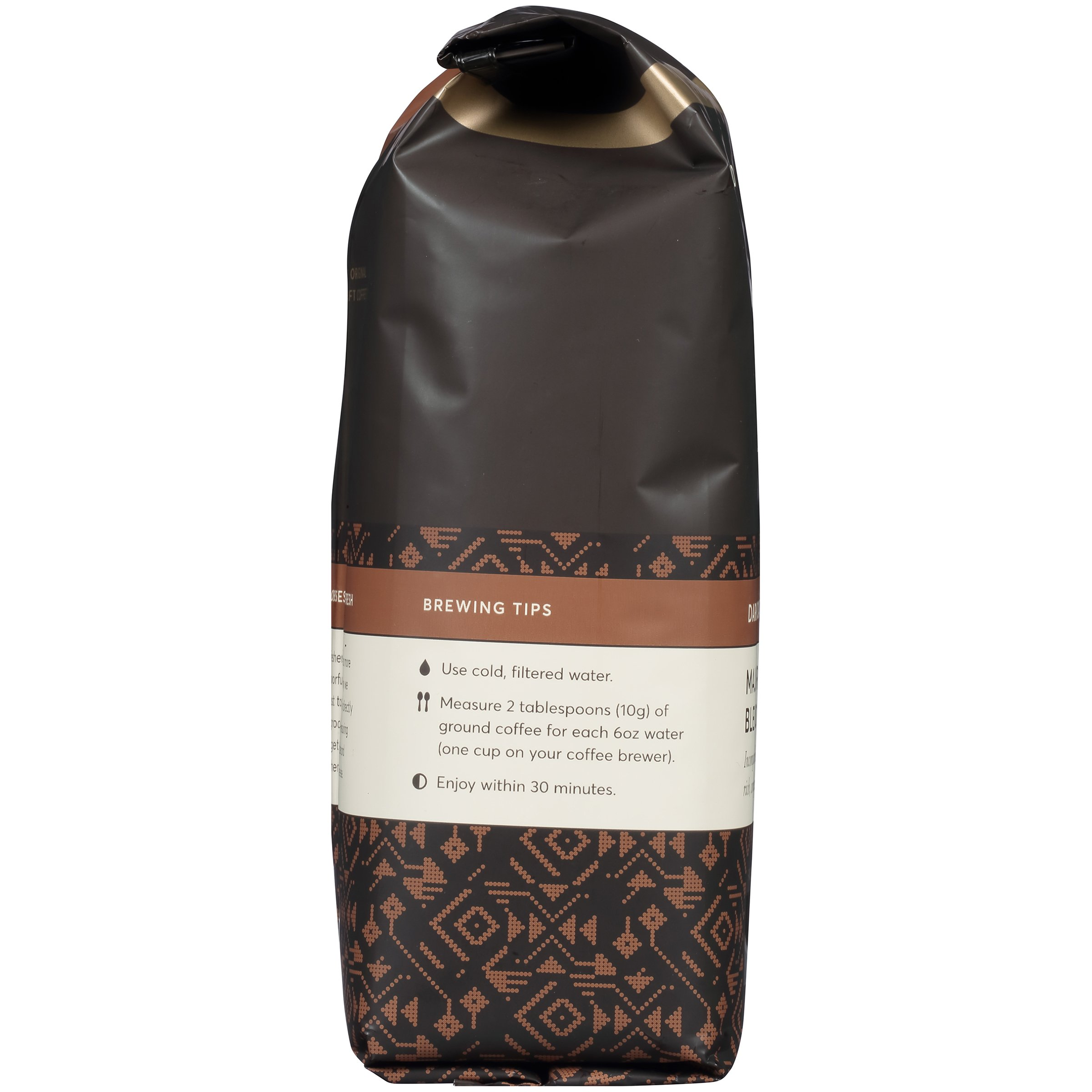 Peet's Coffee, Peetnik Pack, Major Dickason's Blend, Dark Roast, Ground Coffee, 20 oz. Bag, Rich, Smooth, and Complex Dark Roast Coffee Blend With A Full Bodied and Layered Flavor by Peet's Coffee (Image #7)