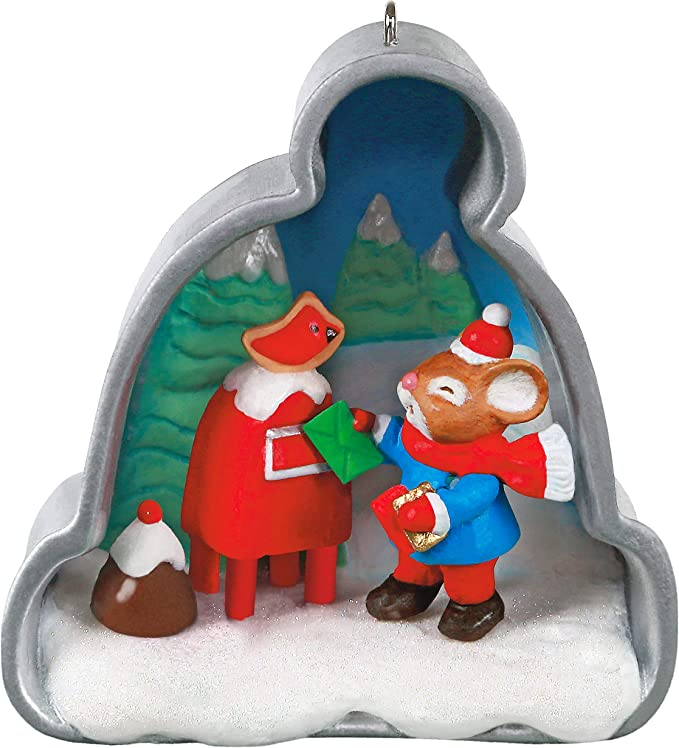 Angel and Bear Imprint Cutters  70s80s Hallmark Christmas Cookie Cutters Snowman