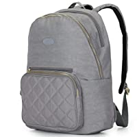 Nylon Casual Travel Daypack Backpack with 13 Inch Laptop Compartment, with Trolley...