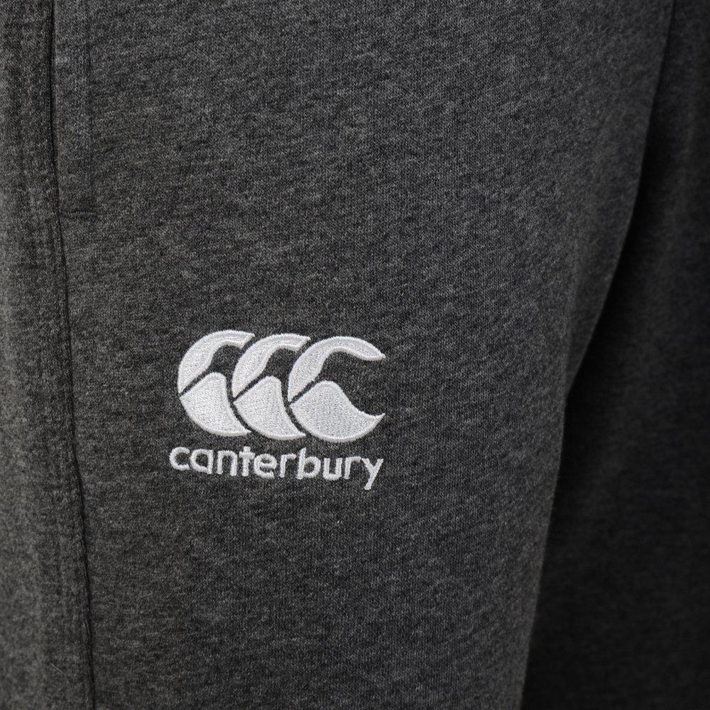 Canterbury - Pantalón de chándal Ajustado de Forro Polar con puños elásticos en los Tobillos para niños