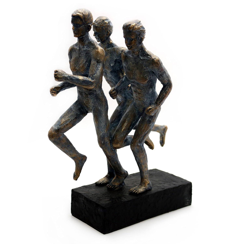 Design Dekoration Skulptur Mann Deko Figur Statue Akt Kunst Modern Polyresin Run - Gall&Zick