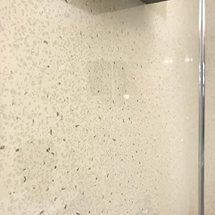 23 Beige Sparkle 5mm Wall Cladding Ceiling Kitchen Sparkly Bathroom Panels PVC Wet Wall