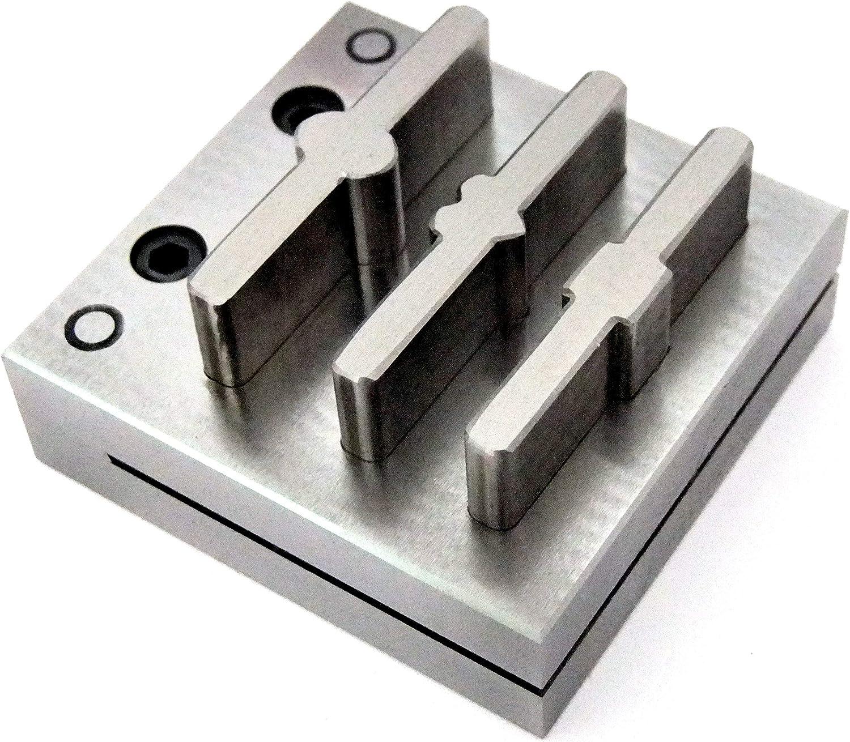 ファンシーディスクカッター 3穴 調節可能なリングブランクに最適