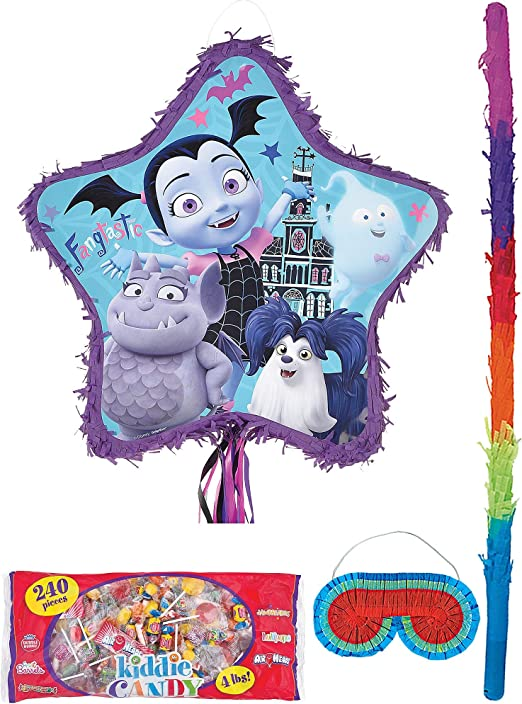 Amazon.com: Party City - Piñata de vampirina, incluye una ...