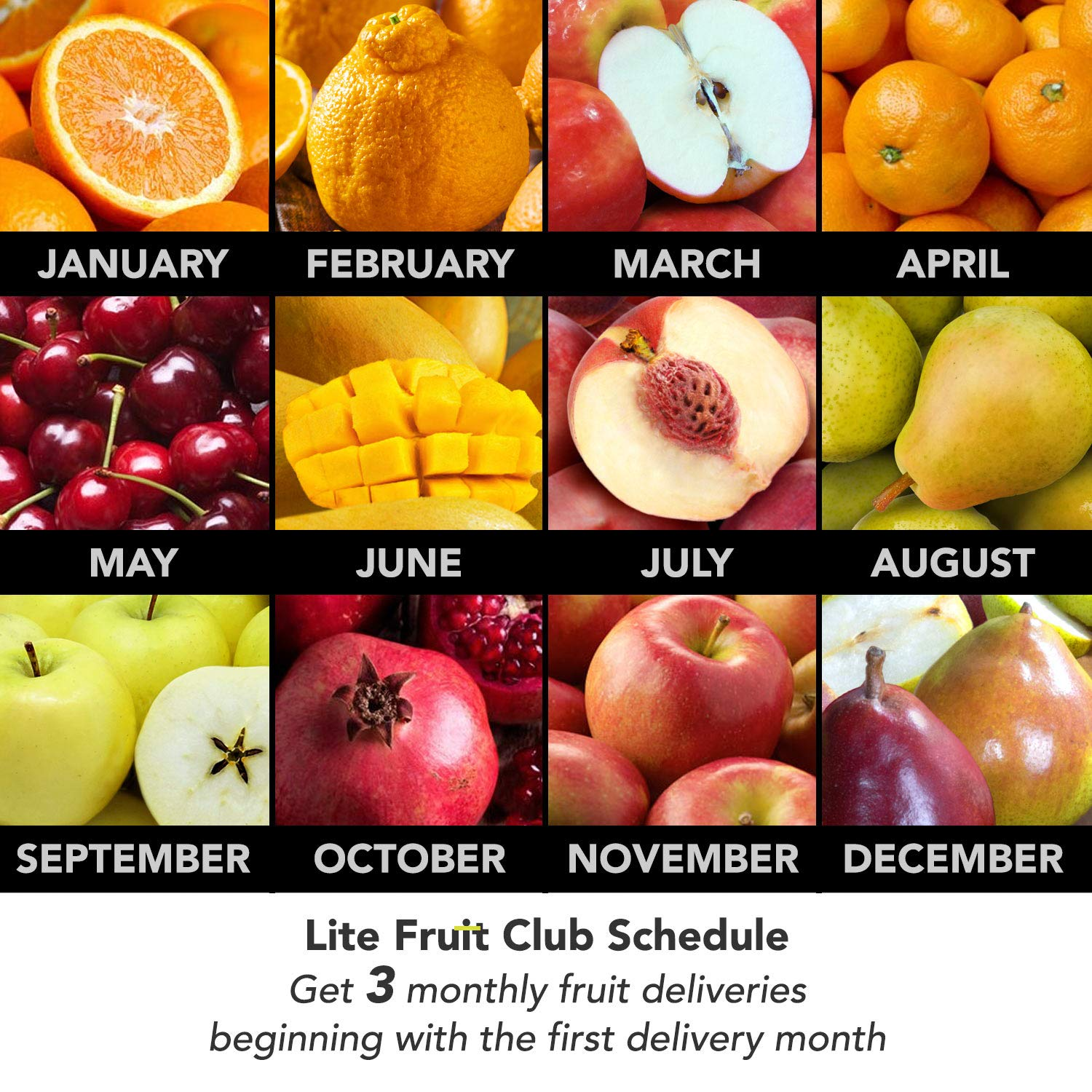Golden State DeLite Monthly Fruit Club - 3 Month Club by Golden State Fruit (Image #2)