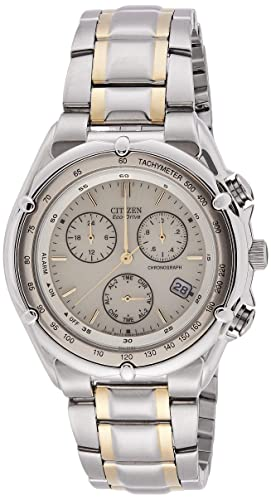 1a19fa5faeb Image Unavailable. Image not available for. Colour  Citizen Eco-Drive Analog  Beige Dial Men s Watch ...