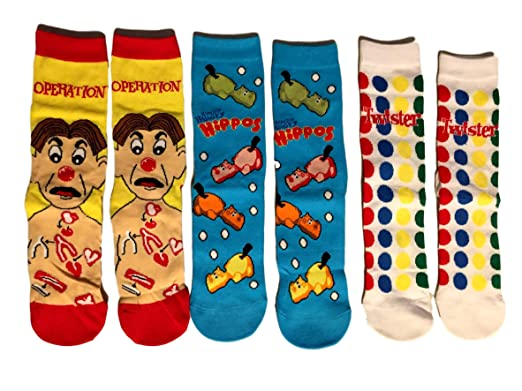 Gaming Socks Calcetines de juego de mesa para mujer, 3 pares ...