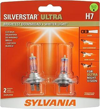 SYLVANIA H7 SilverStar Halogen Headlight Bulb