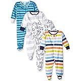 Onesies Brand Paquete de 4 Sleep 'N Play Camisones para niños y bebés para bebés niños