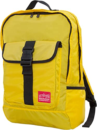 Manhattan Portage Cordura Lite Stuyvesant Backpack, Yellow, One Size
