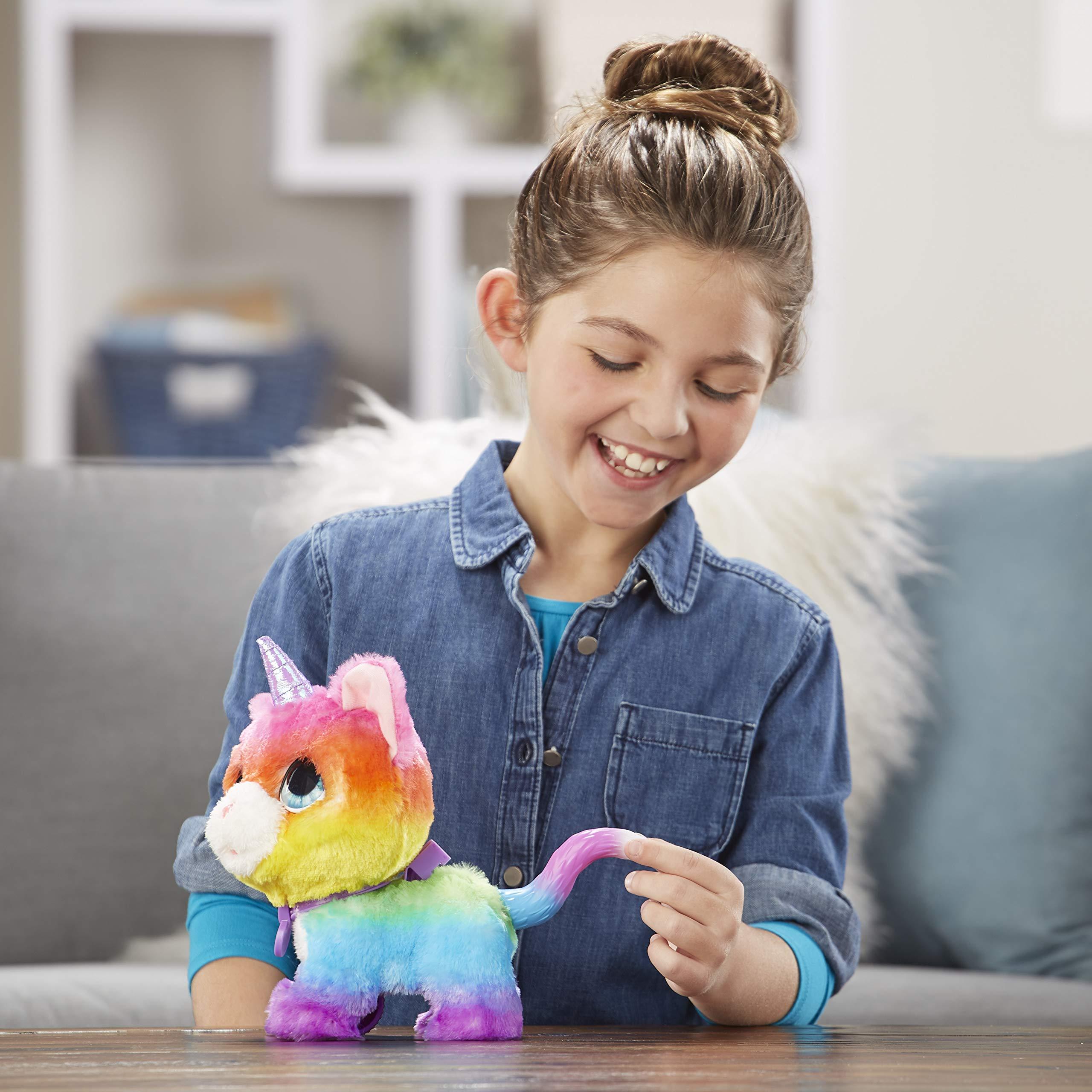 FurReal Friends E5307EU5 FRR WALKALOTS Big Wags Unicorn CAT, Multicolour by FurReal (Image #4)