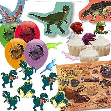 Juego de 107 - Juego de decoración * * dinosaurios para ...