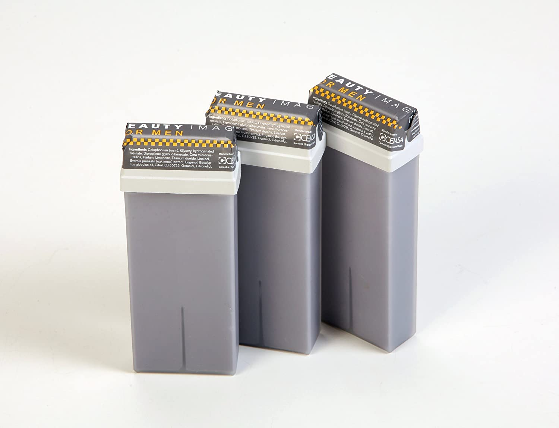 For Men Warm Wax (5 Roll-on Cartridges of 110ml) CEMSA