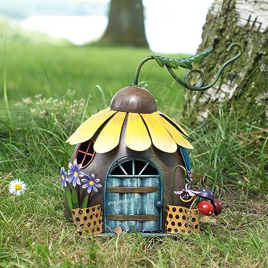 ProdBuy Limited - Casa de girasol para jardín de hadas: Amazon.es: Jardín