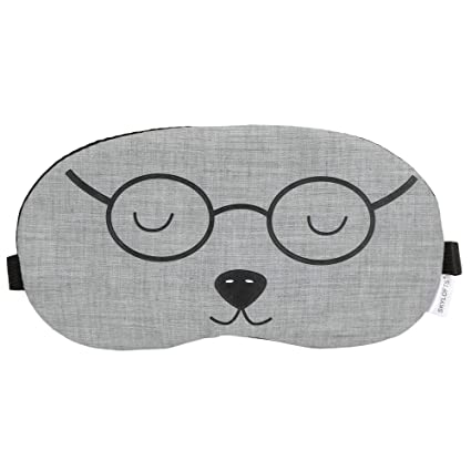 c42c9722654 Buy Skylofts Grey Specy Eye Mask Sleeping Masks Super Soft   Smooth Travel  Masks with Ice Pack Online at Low Prices in India - Amazon.in