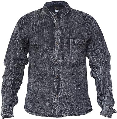 Gheri - Camisa informal para hombre: Amazon.es: Ropa y accesorios
