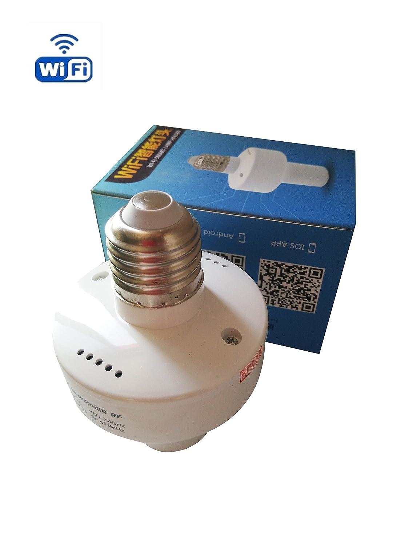 インテリジェント433 MHz RF & WiFiスマートライトランプ電球ホルダーSonoff slampherでスマートホーム、Works for Amazon Alexa B076CJFHMT 15267
