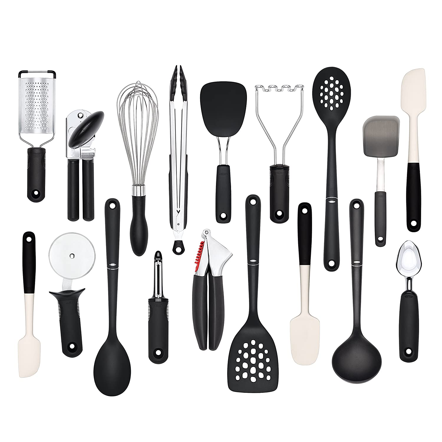 OXO Good Grips 6-Piece Kitchen Essentials Set OXO Cook's Tools 76781