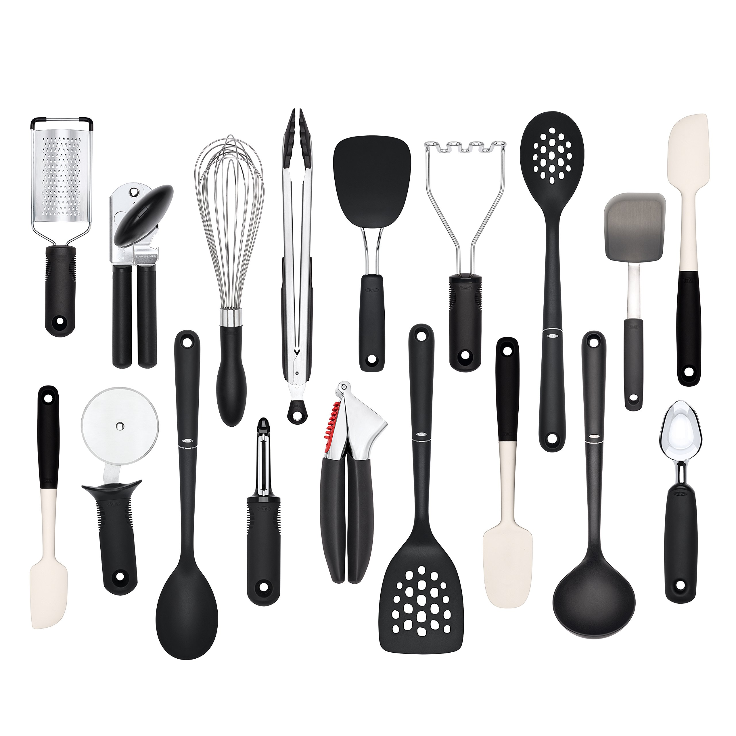 OXO Good Grips 18-Piece Everyday Kitchen Tool Set by OXO