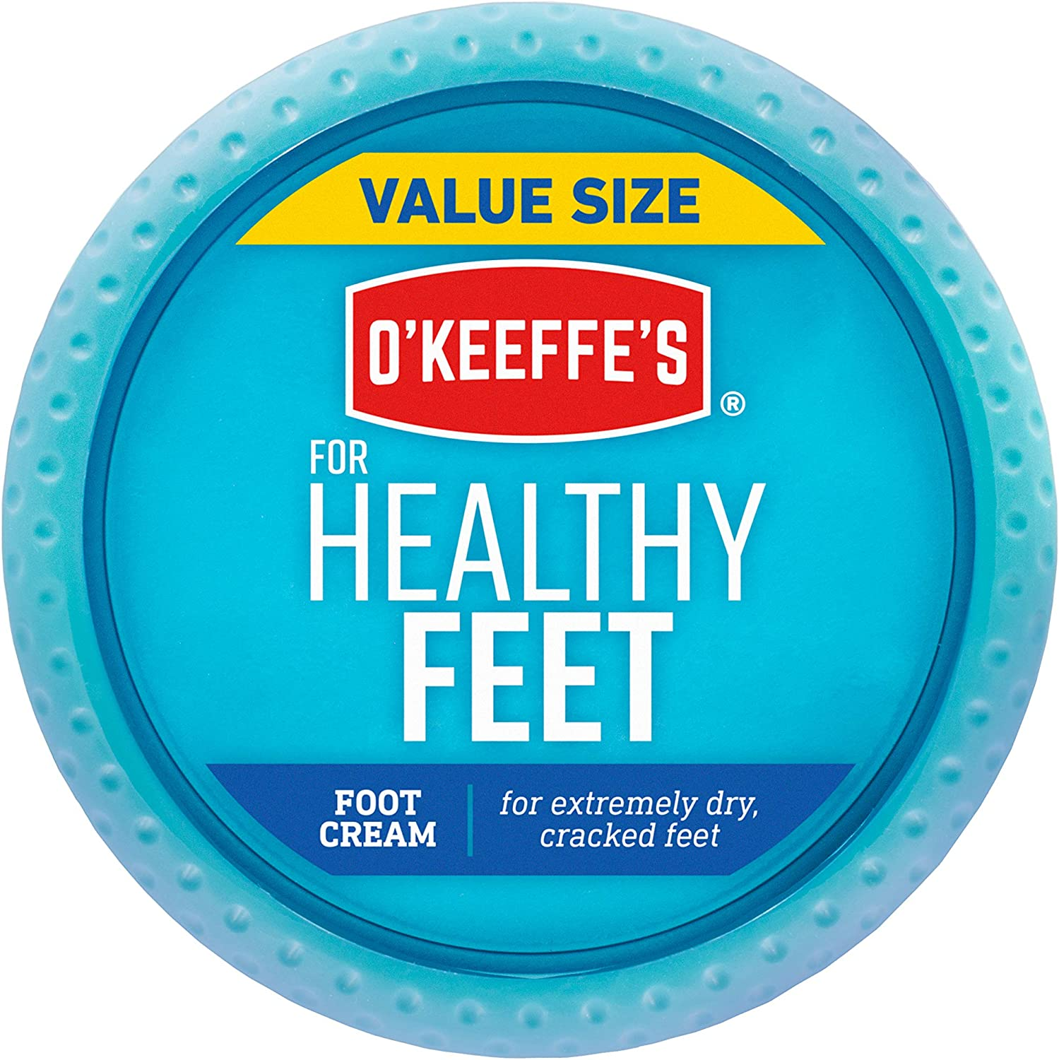 O'Keeffe's Healthy Feet Foot Cream, 6.4oz Jar