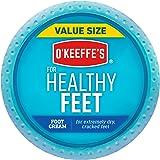 O'Keeffe's Healthy Feet Foot Cream, 6.4oz Jar, white (104042)