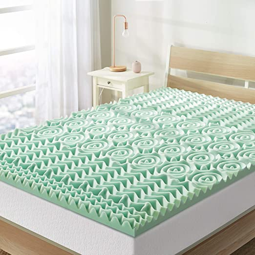 Amazon.com: Best Price Mattress 1.5 Inch 5 Zone Memory Foam Topper