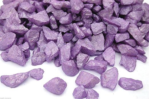 Unistlye - Chispas de cristal para jardín, diseño de piedras de colores: Amazon.es: Productos para mascotas