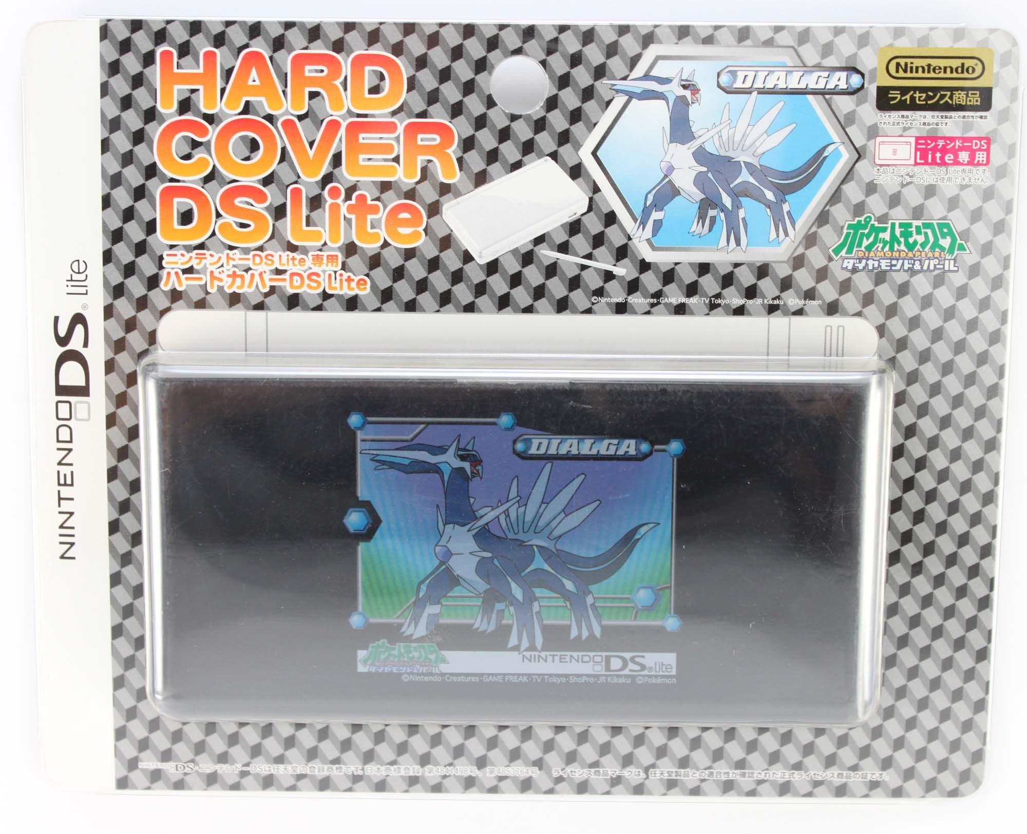 DS Lite Official Pokemon Diamond and Pearl Hard Cover - Dialga
